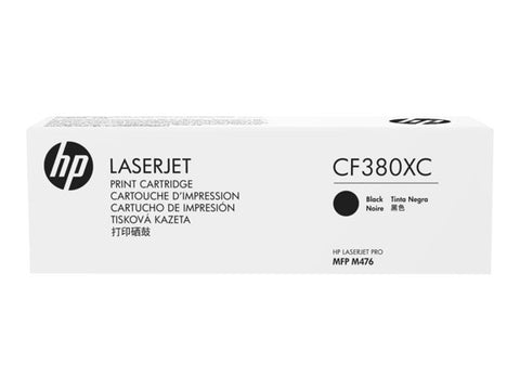 HP HP 312X (CF380XC) Color LaserJet Pro MFP M476 Black Original LaserJet Contract Toner Cartridge