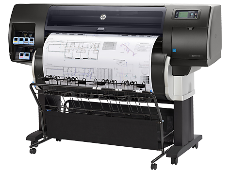 HP Designjet T7200 Encrypted HD Printer