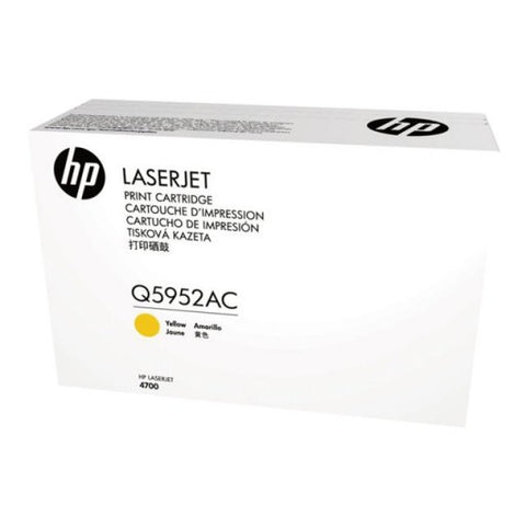 HP HP 643A (Q5952AC) Color LaserJet 4700 Yellow Original LaserJet Contract Toner Cartridge (10,000 Yield)