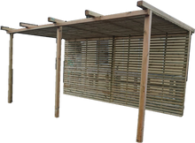 Load image into Gallery viewer, Tempo Slats Pergola - www.contemporarygarden.co.uk