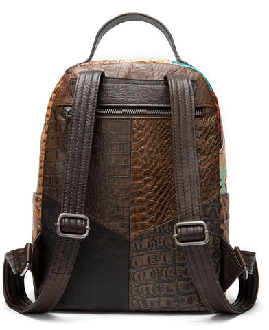 BATIK Women's Vintage Backpack - Back View (1)