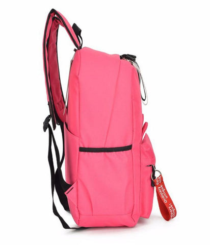 Bessy Cat Backpack School - Side Pockets