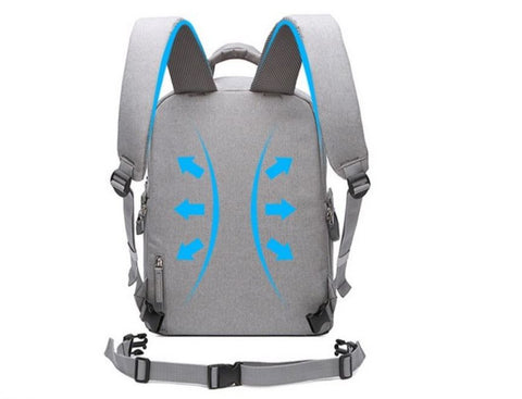 Camera Backpack For Women With Breathable Back