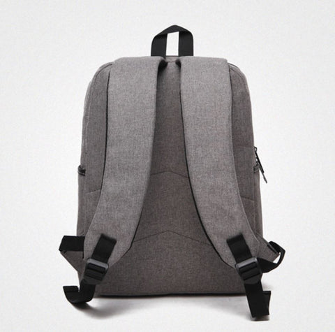 Casual Men's Business Backpack Back View