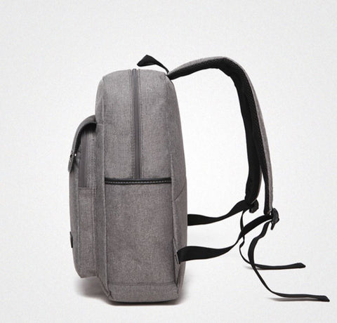 Casual Men's Business Backpack Side View
