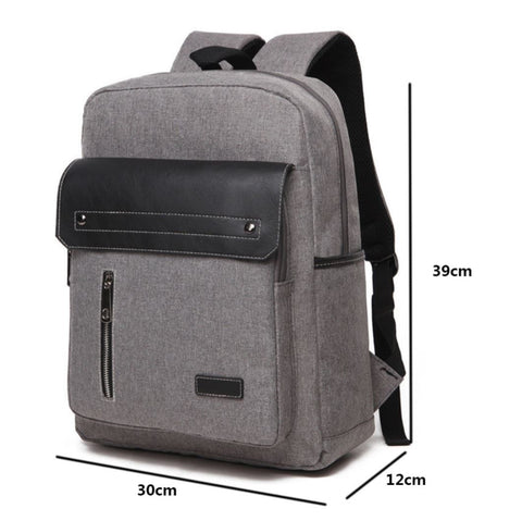 Casual Men's Business Backpack Sizes