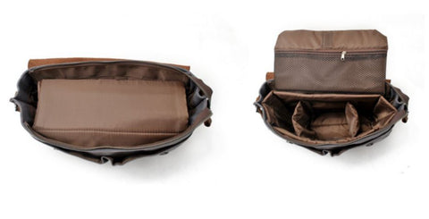 Everyday Camera Bag Messenger Inside View