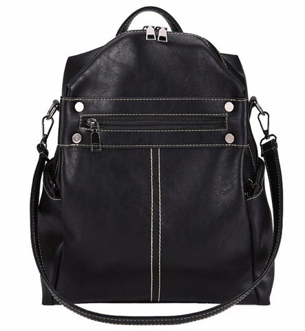 L&M Women's Backpack 3 in 1 - Black - The Store Bags