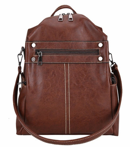 L&M Women's Backpack 3 in 1 - Coffee - The Store Bags