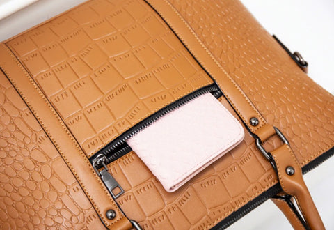 MAIRY Document Bag Leather - Front View - The Store Bags
