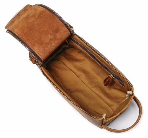 Masson Luxury Men's Toiletry Bag - Interior View