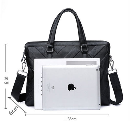 Men's Business Briefcase With Laptop Compartment