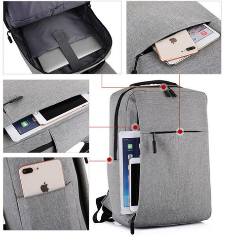 REO Backpack With USB Charger - 360 View - The Store Bags