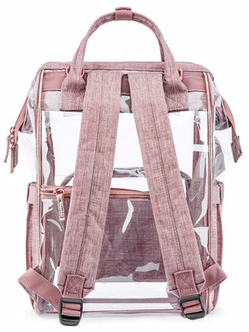 SOBO Clear Diaper Bag - Back View - The Store Bags