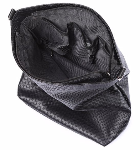 SOBO Plaid Diaper Bag - Interior View - The Store Bags