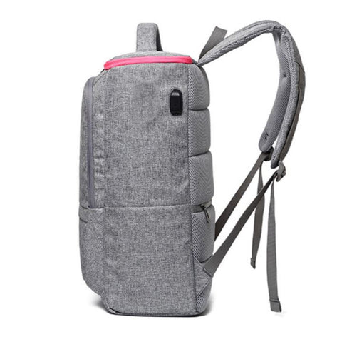 Small Travel Backpack With USB Port