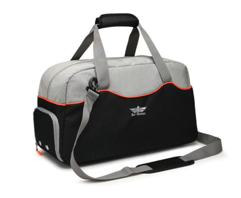 Stylish Gym Bag With Shoe Compartment