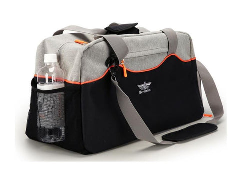 Stylish Gym Bag With Side Bottle Pocket