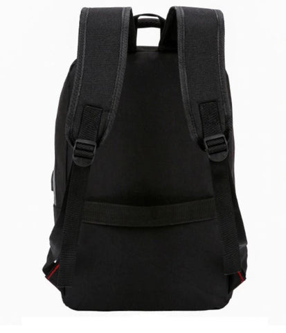 Stylish Men's Business Backpack Back View