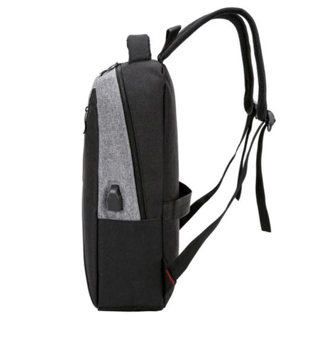 Stylish Men's Business Backpack Side View