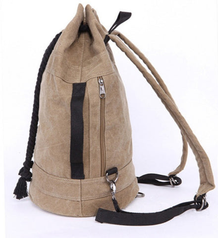TSB Men's Backpack Without Laptop Sleeve - Side View - The Store Bags