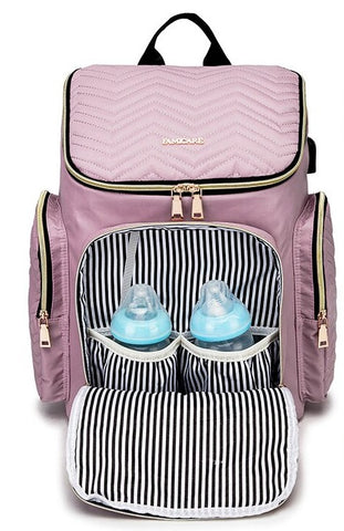 TSB usb diaper backpack - Insulated Pockets - The Store Bags