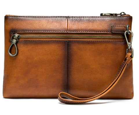 WESTAL Genuine Leather Clutch Wallet - Back View - The Store Bags