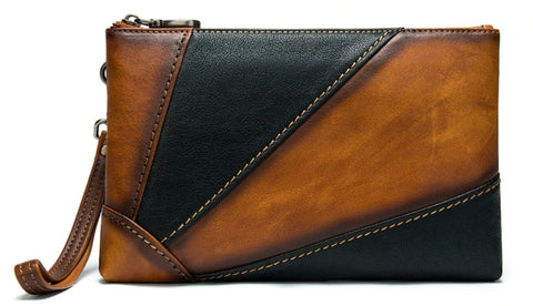 WESTAL Genuine Leather Clutch Wallet - Front View - The Store Bags