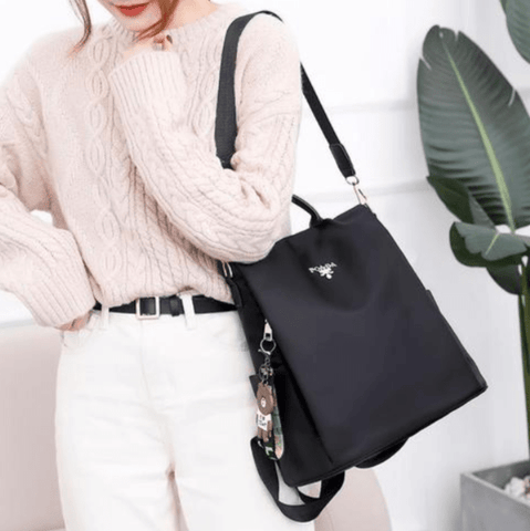 Women-anti-theft-black-shoulder-bag