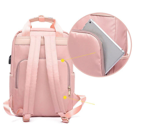 Women's Laptop Backpack Anti Theft Back Pocket