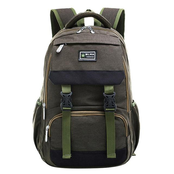 BLAN Elementary School Backpack Boy The Store Bags Army Green