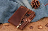 Bifold Wallet With Zipper Coin Pocket The Store Bags