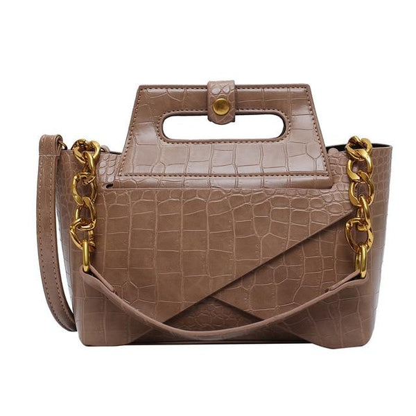 Chain Handle Handbag The Store Bags Khaki
