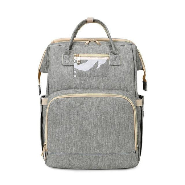 Famicare Nappy USB Backpack The Store Bags Grey