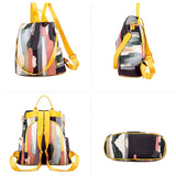 Colorful Backpack Purse ABIDA The Store Bags