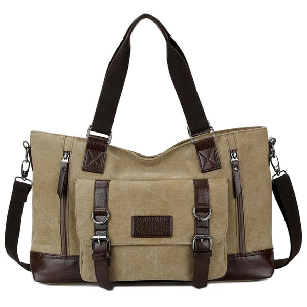 Extra Large Canvas Messenger Bag ERIN
