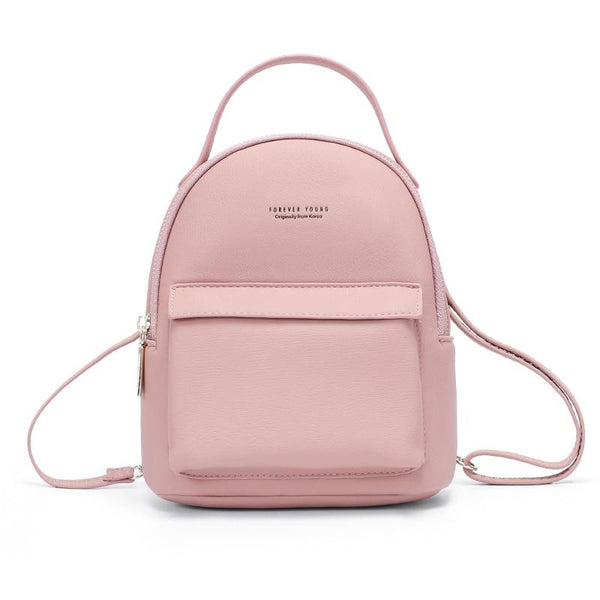 Light Pink Mini Backpack ERIN The Store Bags Pink