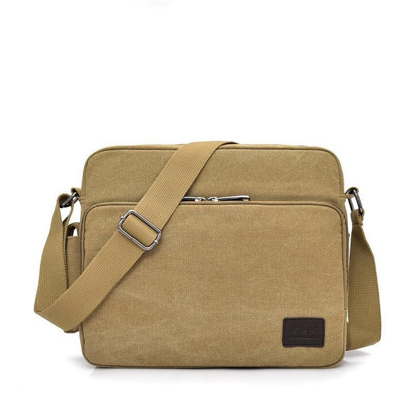 Small Canvas Messenger Bag ERIN