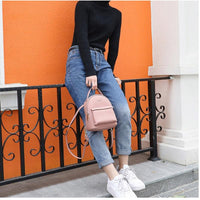 Light Pink Mini Backpack ERIN The Store Bags