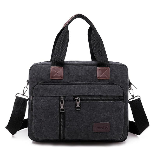 Small Black Messenger Bag ERIN