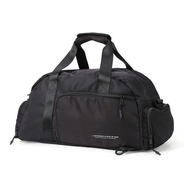 Travel Duffel Bag With Shoe Compartment The Store Bags Black