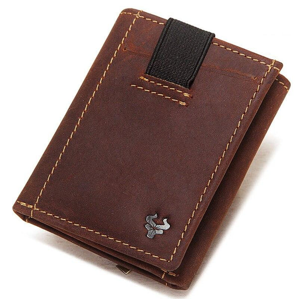 Trifold Wallet With Coin Pocket ERIN The Store Bags Brown