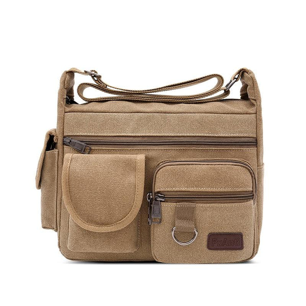 Messenger Bag With Pockets ERIN