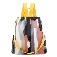 Colorful Backpack Purse ABIDA The Store Bags Yellow