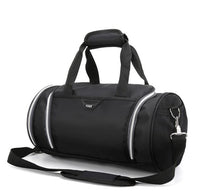 Round Duffle Gym Bag TOSH The Store Bags Black