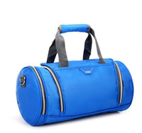 Round Duffle Gym Bag TOSH The Store Bags Light blue