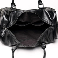 Men's Leather Gym Bag ANMA The Store Bags
