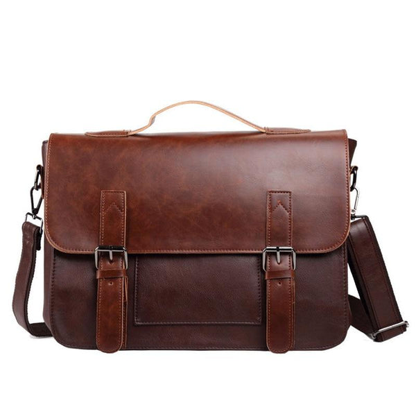 Large Leather Laptop Bag ERIN