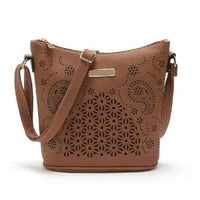 Boho Leather Tote ERIN The Store Bags Brown