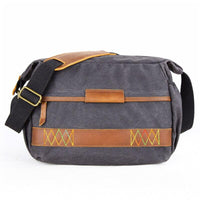 Vintage Camera Messenger Bag WEPRO The Store Bags Dark Grey